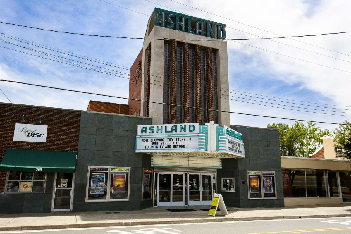 Richmond Virginia - Ashland Neighborhood - Ashland Theatre - Historic Landmark 01.JPG