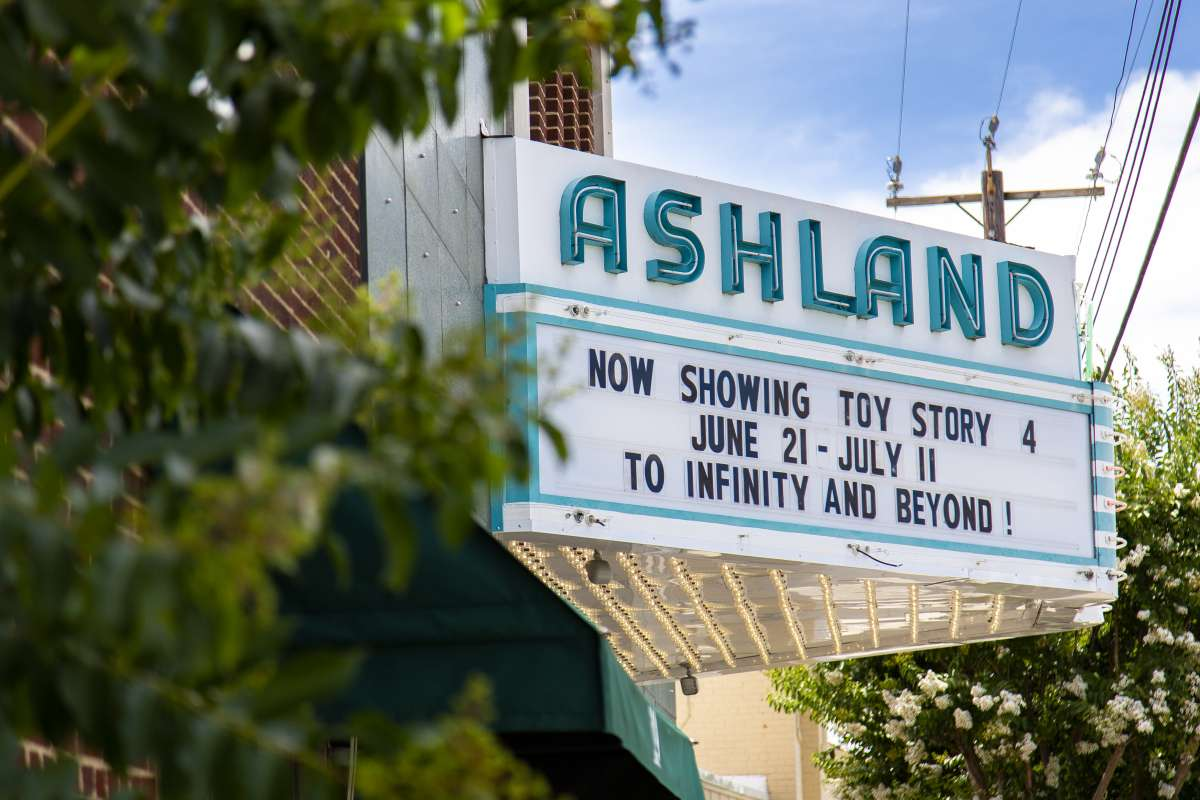 Richmond Virginia - Ashland Neighborhood - Ashland Theatre - Historic Landmark 03.JPG
