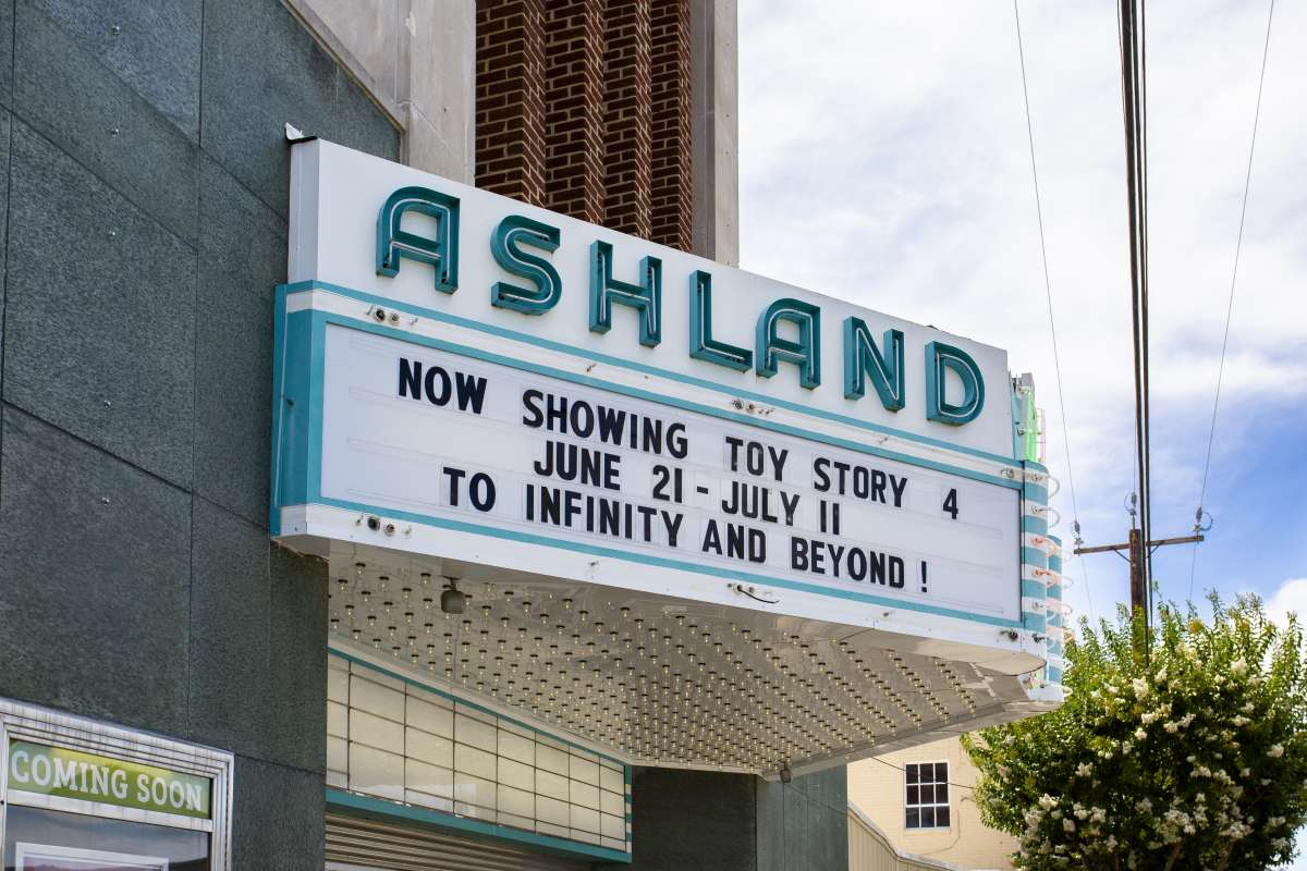 Richmond Virginia - Ashland Neighborhood - Ashland Theatre - Historic Landmark 04.JPG