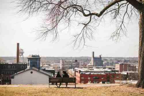 01 Family - Jefferson Park - Shockoe Bottom Neighborhood - Church Hill - Skyline