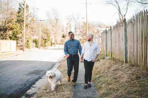 01 Richmond Virginia Northside - Neighborhood Community - Couple Gay LGBT - Dog Walking - Home Owners
