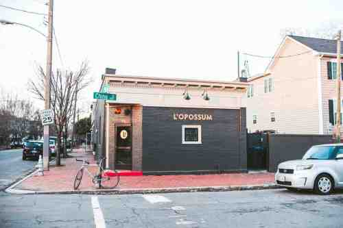 01 Richmond Virginia RVA – L'Opossum Restaurant Cocktail Bar – Oregon Hill Neighborhood Home Community – Corner Lot Food Dine