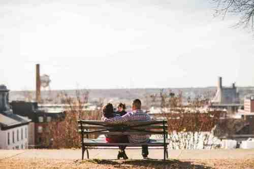 02 Family - Jefferson Park - Shockoe Bottom Neighborhood - Church Hill - Skyline