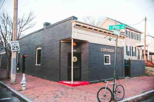 02 Richmond Virginia RVA – L'Opossum Restaurant Cocktail Bar – Oregon Hill Neighborhood Home Community – Corner Lot Food Dine