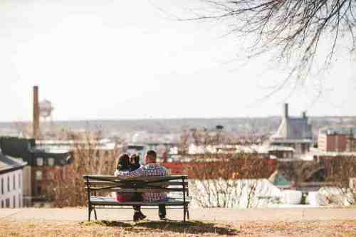 03 Family - Jefferson Park - Shockoe Bottom Neighborhood - Church Hill - Skyline