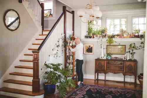 04 Richmond Virginia Northside - Home House Design - Plants Green Nature - Man - Home Owner