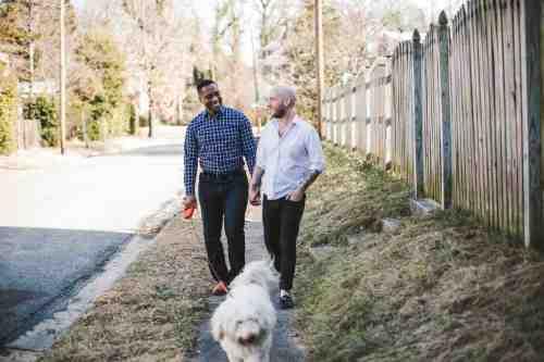 04 Richmond Virginia Northside - Neighborhood Community - Couple Gay LGBT - Dog Walking - Home Owners