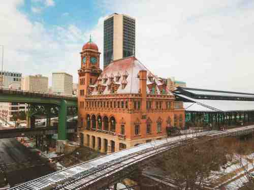 04 Richmond Virginia - Shockoe Bottom Neighborhood - Main Street Station - Train Travel Events Venue - Historic Landmark