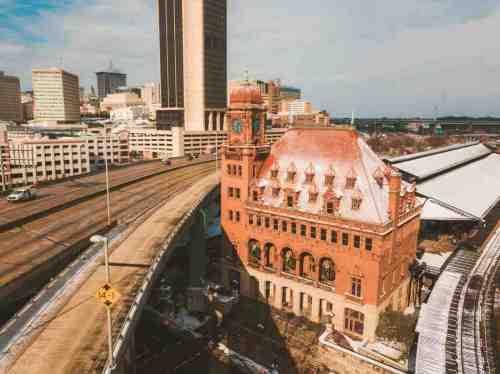 07 Richmond Virginia - Shockoe Bottom Neighborhood - Main Street Station - Train Travel Events Venue - Historic Landmark