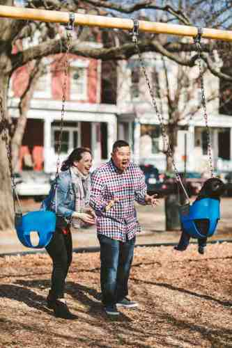 10 Family Mom Dad Baby - Jefferson Park - Church Hill Neighborhood - Playground - Friendly Safe Happy
