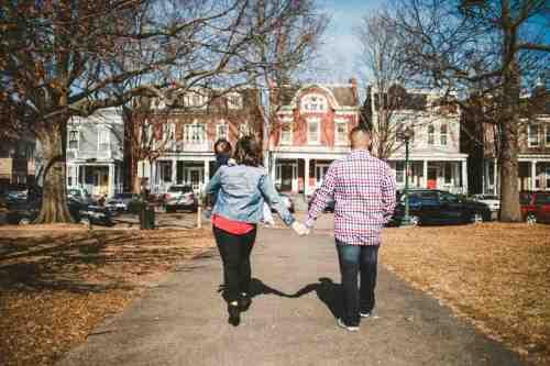 11 Family Mom Dad Baby - Jefferson Park - Church Hill Neighborhood - Playground - Friendly Safe Happy