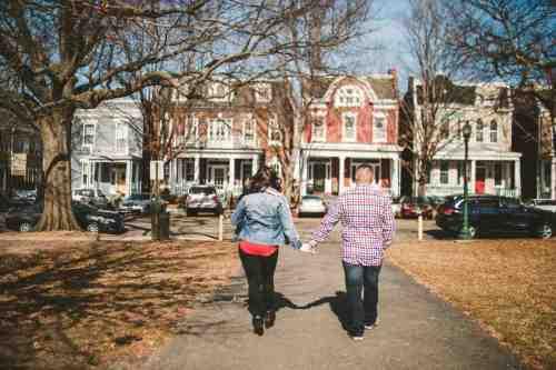 15 Family Mom Dad Baby - Jefferson Park - Church Hill Neighborhood - Playground - Friendly Safe Happy