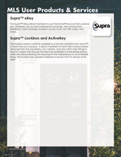 Supra: eKey, Lockbox and ActiveKey